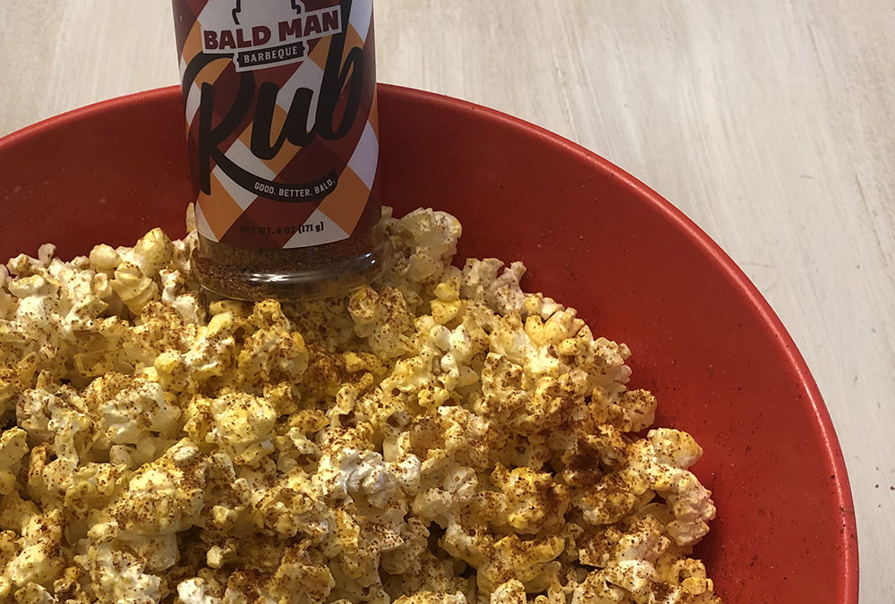 BUTTERED + RUBBED POPCORN